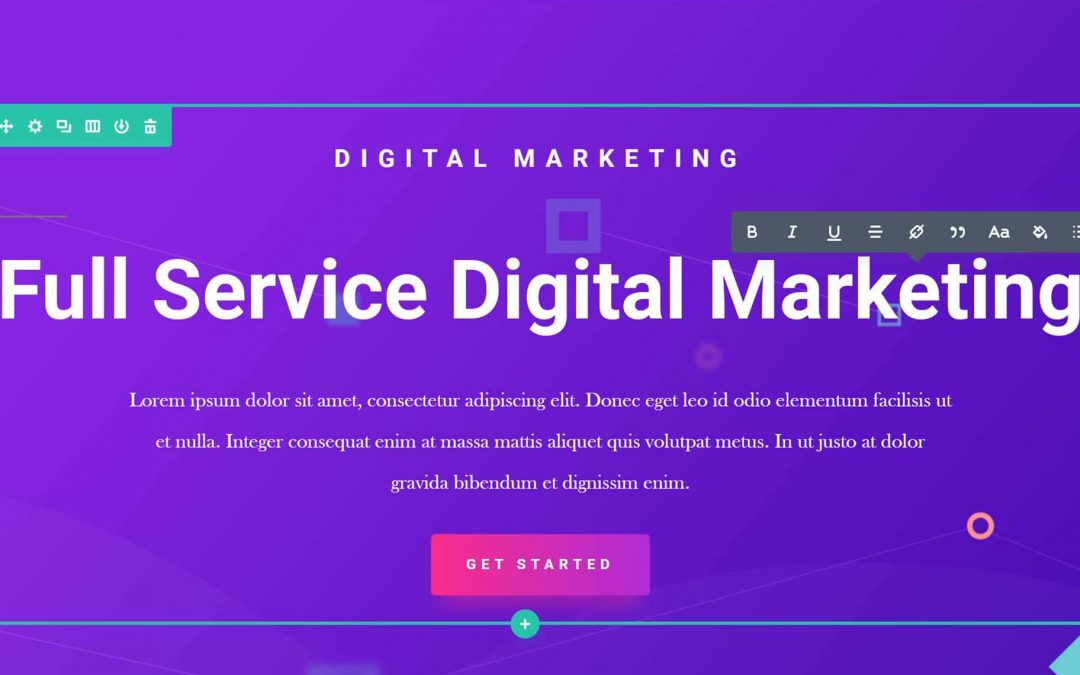 Our top favourite and best 15 DIVI features for building a website