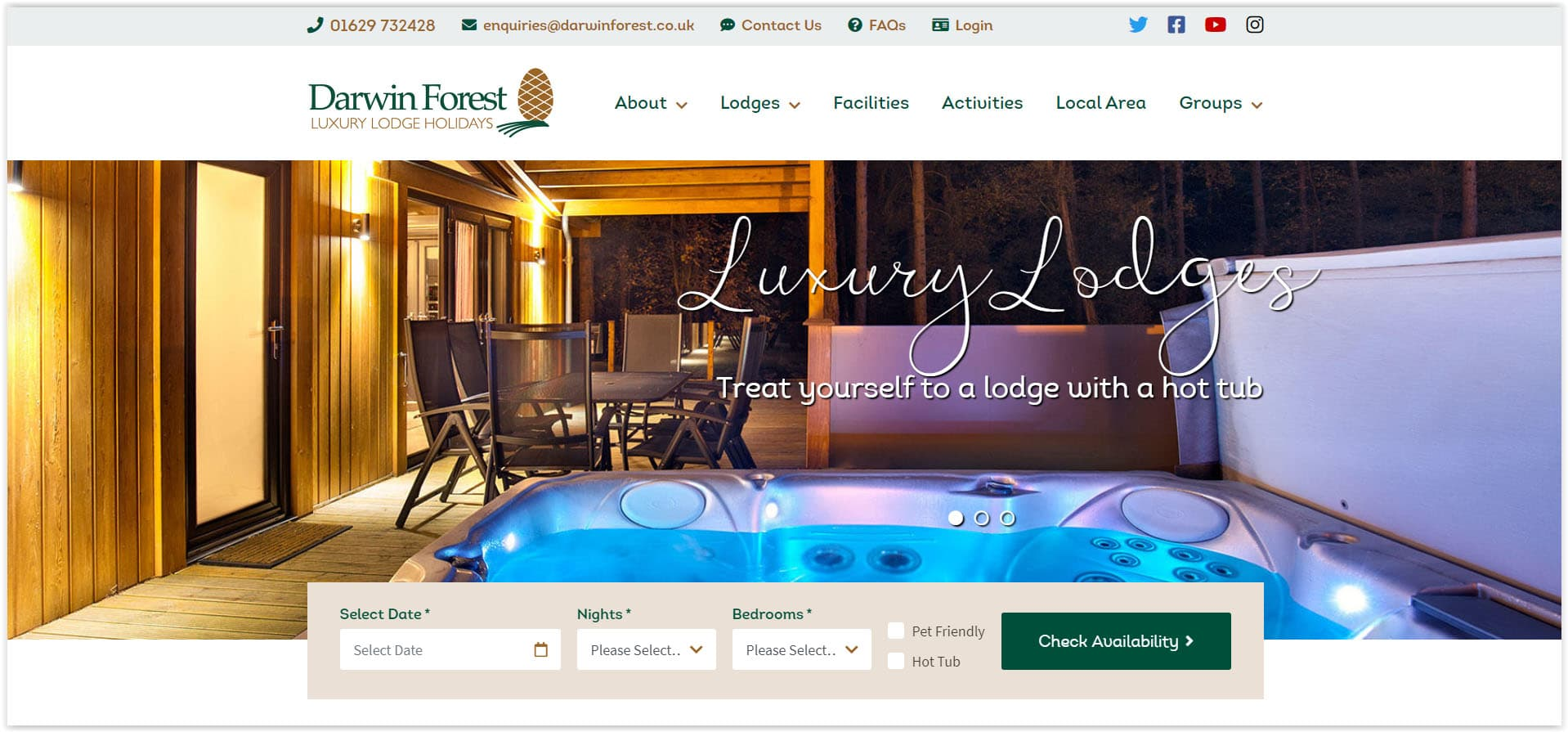 Website Design For Hotels, Self-Catering And Hospitality - Top 5 Ideas In 2020 Tiger Digital Web Design