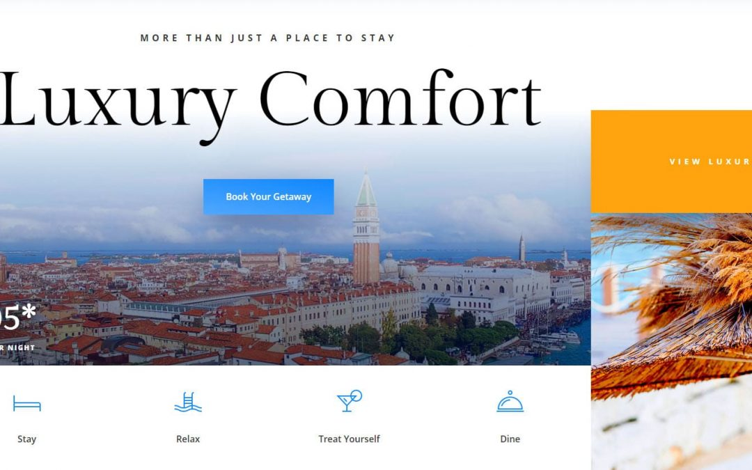 Website Design For Hotels, Self-Catering And Hospitality – Top 5 Ideas In 2020