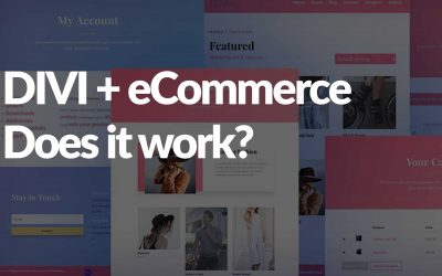 How to make a Divi eCommerce site in 2021