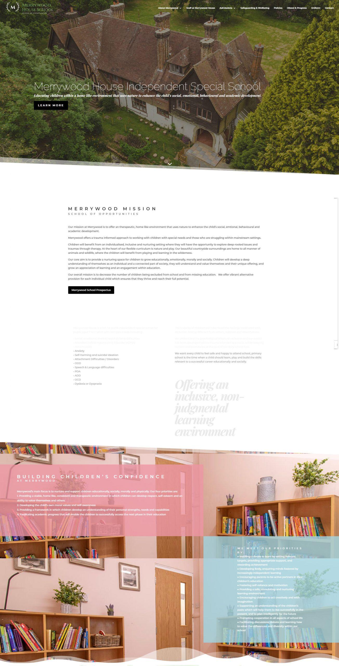 merrwood portfolio 1 scaled - Website Design
