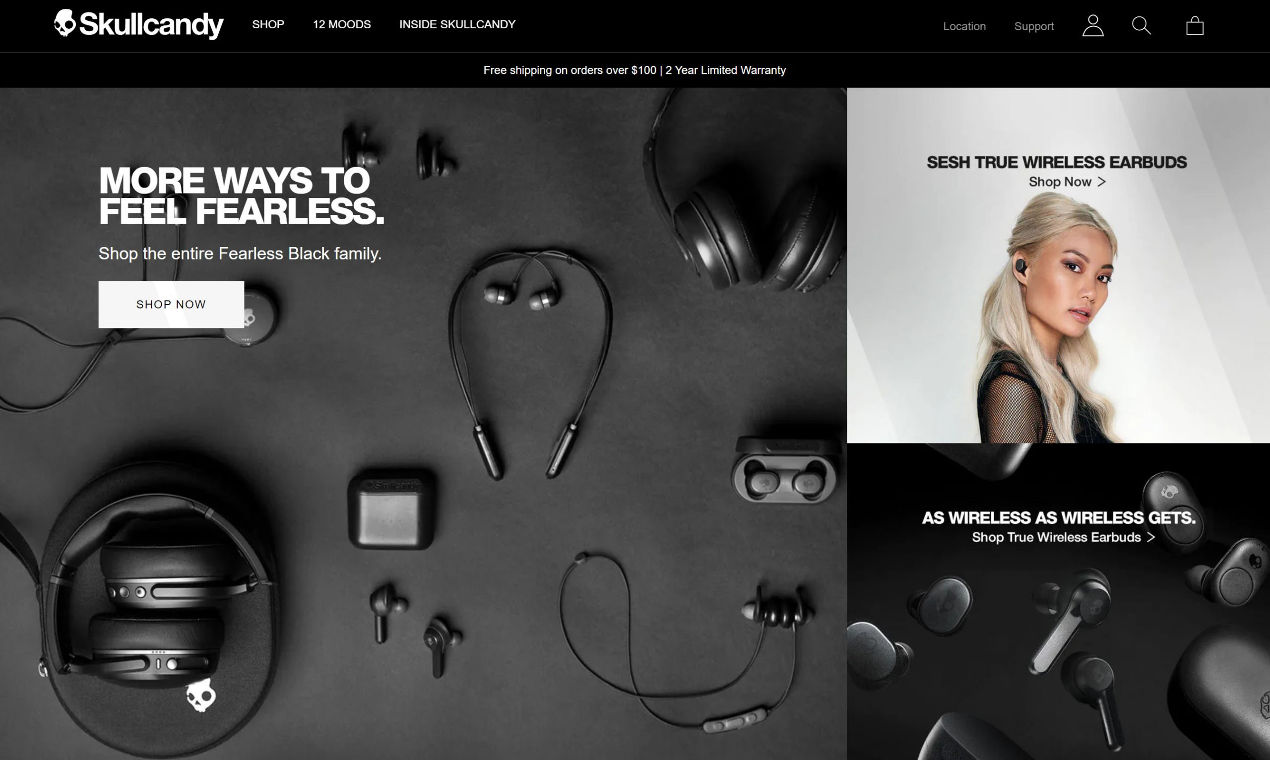 skull candy scaled 1 - Divi eCommerce – Our Best eCommerce Design Layout (2020)