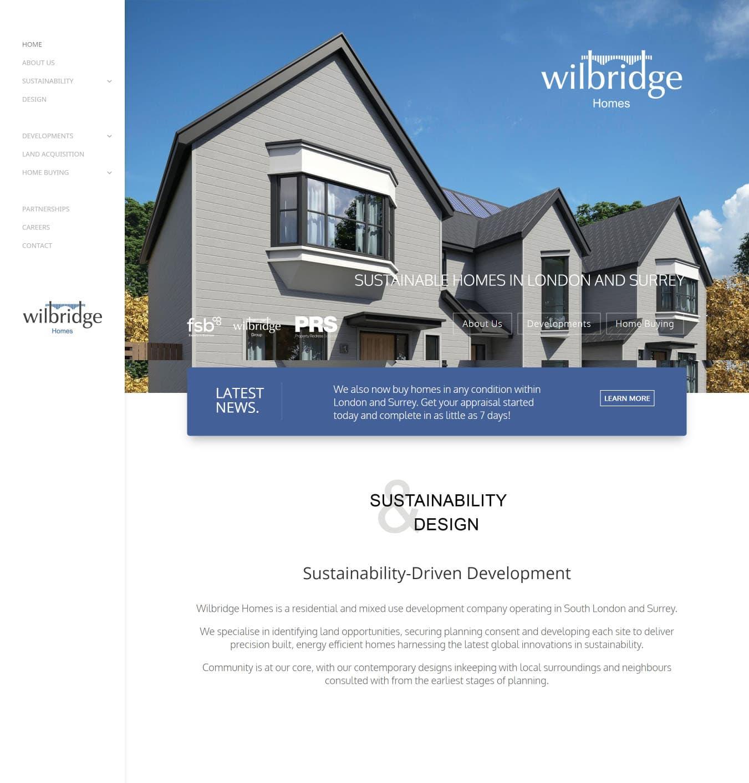 wilbridge homes portfolio 1 - Digital Marketing
